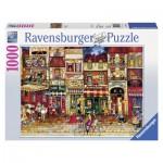 Puzzle  Ravensburger-19408 Rue de France