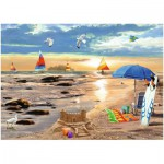 Puzzle  Ravensburger-19527 Ready for Summer