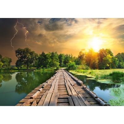 Puzzle Ravensburger-19538 Nature Edition N°3 : Lumière Mystique