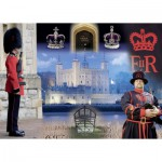 Puzzle  Ravensburger-19581 Historic Royal Palaces - The Tower of London