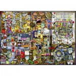 Puzzle  Ravensburger-19597 Colin Thompson : The Inventor's Cupboard