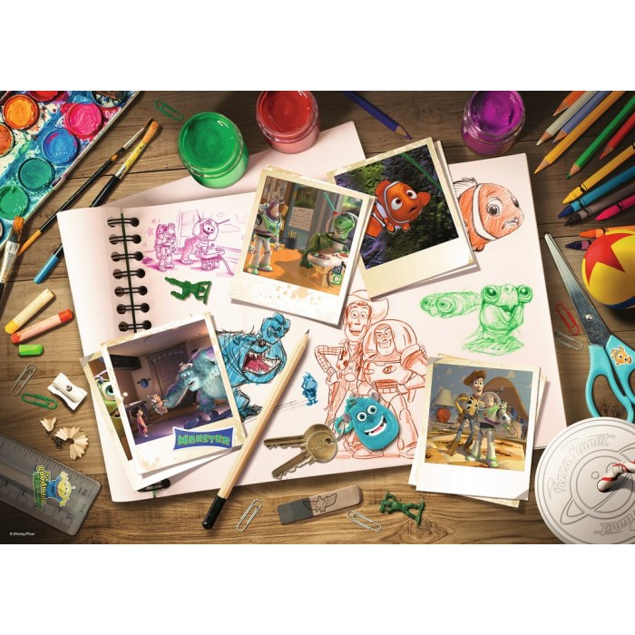 Disney Pixar: Sketches