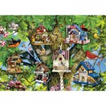 Puzzle  Ravensburger-19691 Bird Village