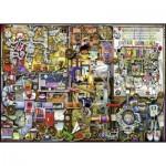 Puzzle  Ravensburger-19710 Colin Thompson : Inventivité