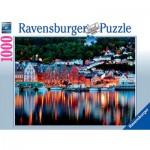 Puzzle  Ravensburger-19715 Bergen, Norvège