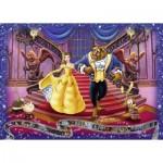 Puzzle  Ravensburger-19746 Disney - La Belle et la Bête