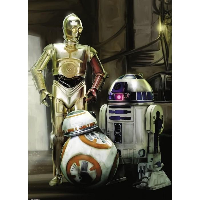 Star Wars - C-3PO, R2-D2 & BB-8
