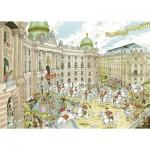 Puzzle  Ravensburger-19788 Fleroux - Vienne
