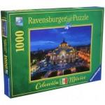 Puzzle  Ravensburger-19842 Palais des beaux-arts de Mexico