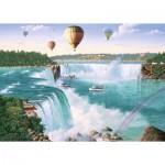 Puzzle  Ravensburger-19871 Chutes du Niagara