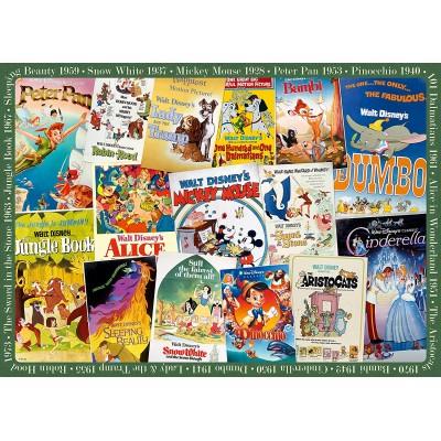 Puzzle Ravensburger-19874 Posters Vintage Disney
