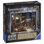 Ravensburger-19950 Exit Puzzle - Sternwarte (en Allemand)