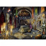 Ravensburger-19955 Exit Puzzle -  Exit Im Vampirschloss