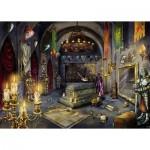 Ravensburger-19961 Escape Puzzle - La Chambre du Vampire