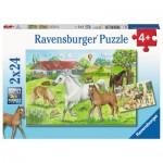 2 Puzzles - Chevaux