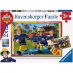 2 Puzzles - Fireman Sam