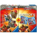 Ravensburger-20519 Multipack - Memory et 3 Puzzles - Gormiti