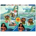 Ravensburger-21272 3 Puzzles + Memory - Vaiana