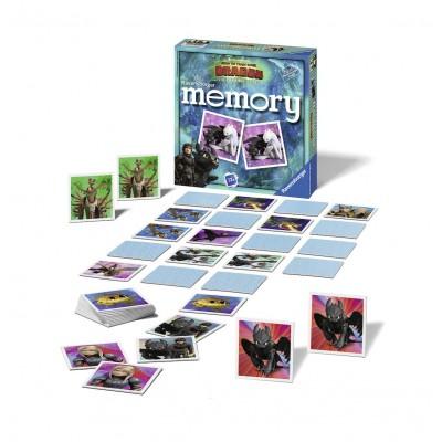 Puzzle Ravensburger-21444 Memory - Dragon 3