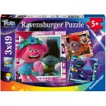 3 Puzzles - DreamWorks - Trolls World Tour