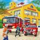 3 Puzzles - Les pompiers au travail
