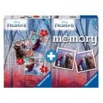 3 Puzzles + Memory - La Reine des Neiges II