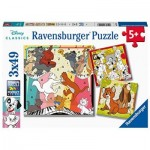 3 Puzzles - The Aristocats