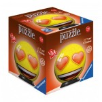 Ravensburger-72060-02 Puzzle 3D - Emoji