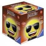 Ravensburger-72060-04 Puzzle 3D - Emoji
