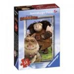 Ravensburger-72614-09436-4 Mini Puzzle - Dragons