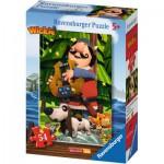 Puzzle  Ravensburger-73296-09467-04 Wickie et ses Amis