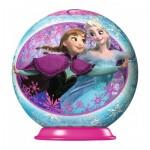 Ravensburger-79467-11913-05 3D Puzzle-Ball - La Reine des Neiges