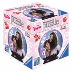 Ravensburger-79784-11918-02 Puzzle Ball 3D - Chica Vampiro