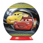 Ravensburger-79936-11920-02 Puzzle Ball 3D - Cars 3