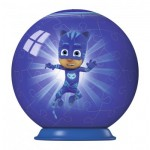 Ravensburger-79958-11924-01 Puzzle Ball 3D - PJ Masks