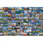 Puzzle   99 Plus Beaux Lieux d'Europe