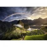 Puzzle   Arc-en-Ciel sur Machu Picchu, Pérou