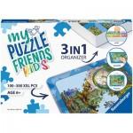 Boîte de Tri 3 en 1 - 100 - 300 Pièces XXL - Blue