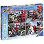 Bumper Pack 4 Puzzles - Spider-Man