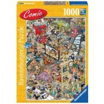 Comic Puzzle - Hollywood
