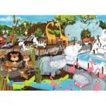 Puzzle   Journée au Zoo