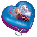 Puzzle 3D - Boîte Coeur - Frozen II