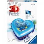 Puzzle 3D - Boîte Coeur - Monde Sous-Marin