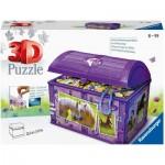 Puzzle 3D - Coffre au Trésor - Chevaux