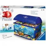 Puzzle 3D - Coffre au Trésor - Monde Sous-Marin