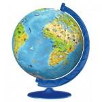 Puzzle 3D - Globe pour Enfants en Alemand