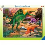 Puzzle Cadre - Dinosaures
