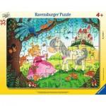 Puzzle Cadre - Monde de la petite Princesse