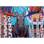 Puzzle   Winter Moose