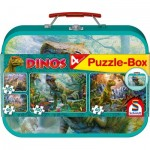4 Puzzles - Dinosaures